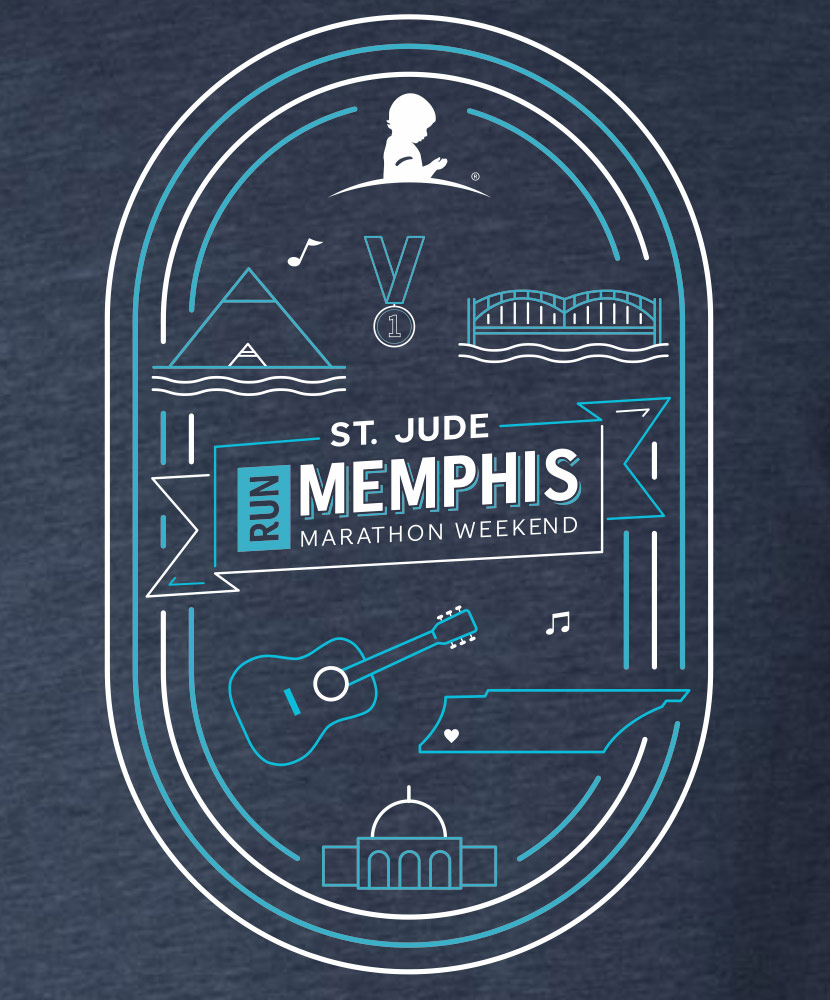 2020 Around Memphis Event T-shirt