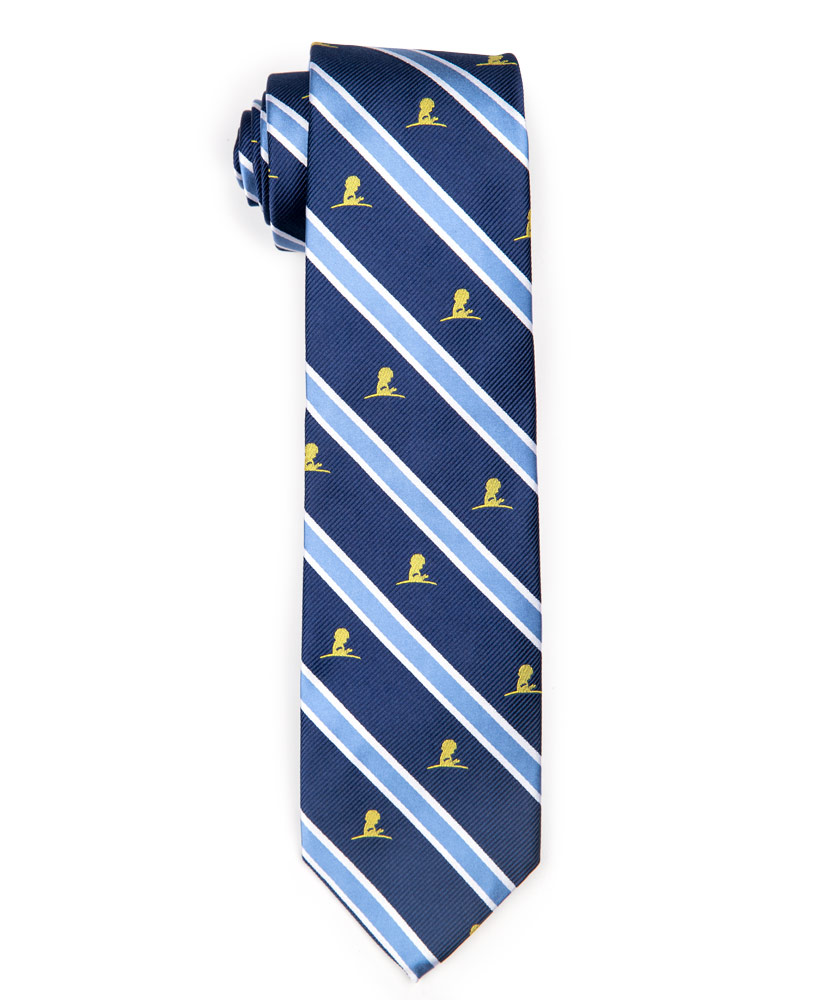 Brooks Brothers Navy Bold Stripe Tie