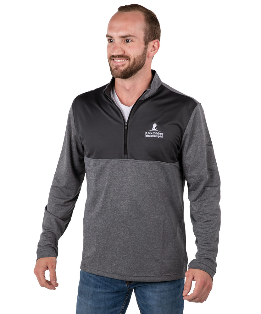 Men's Adidas Quarter-Zip Lightweight Pullover