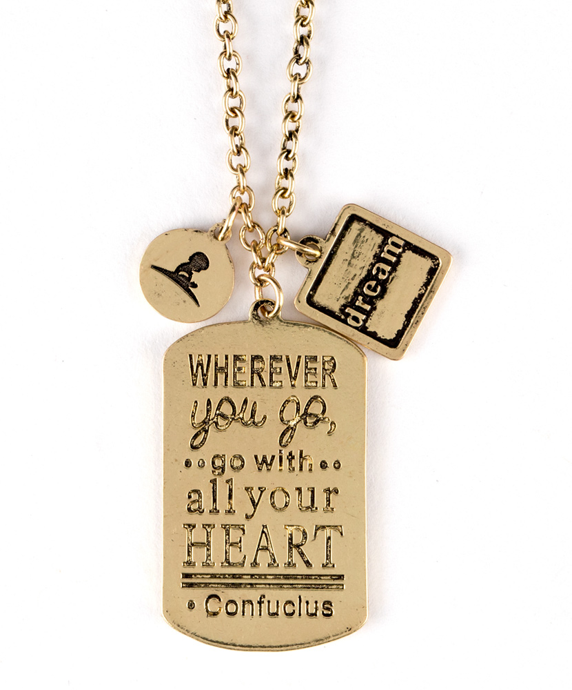Go with All Your Heart Necklace