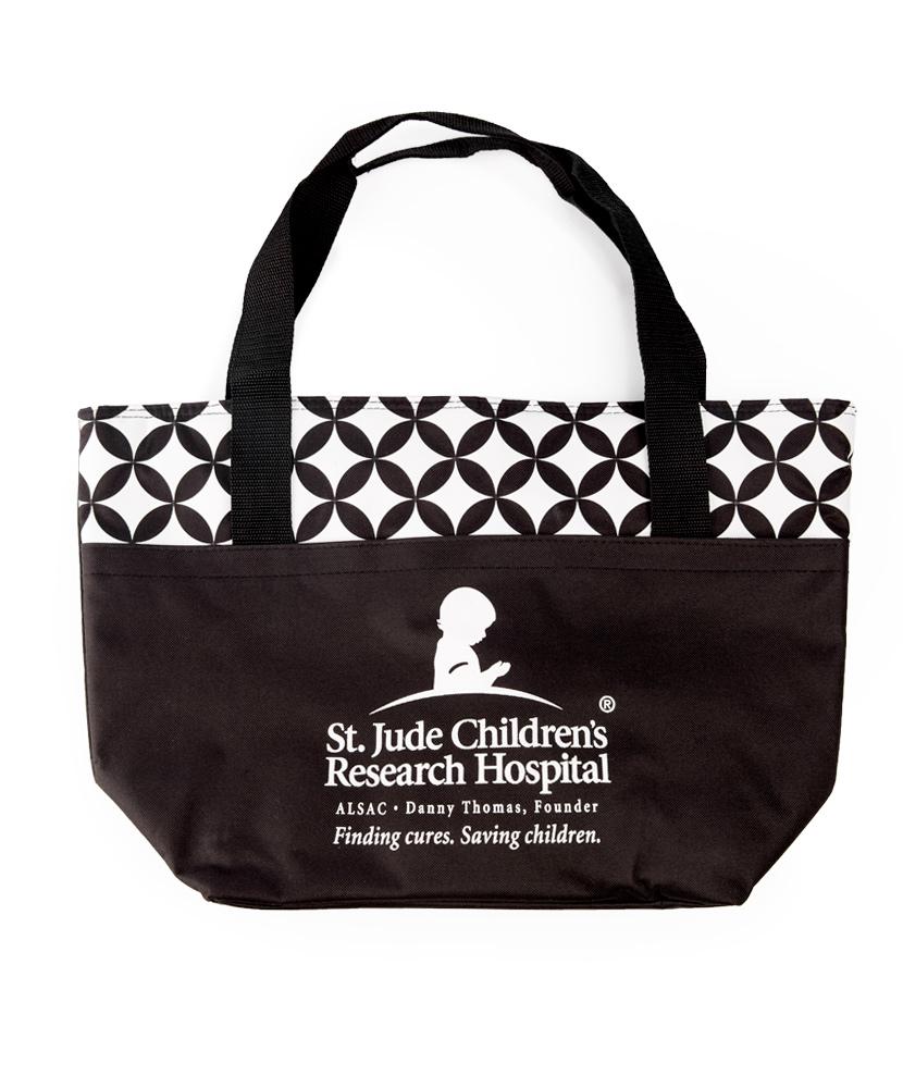 Geometric Cooler Tote Bag