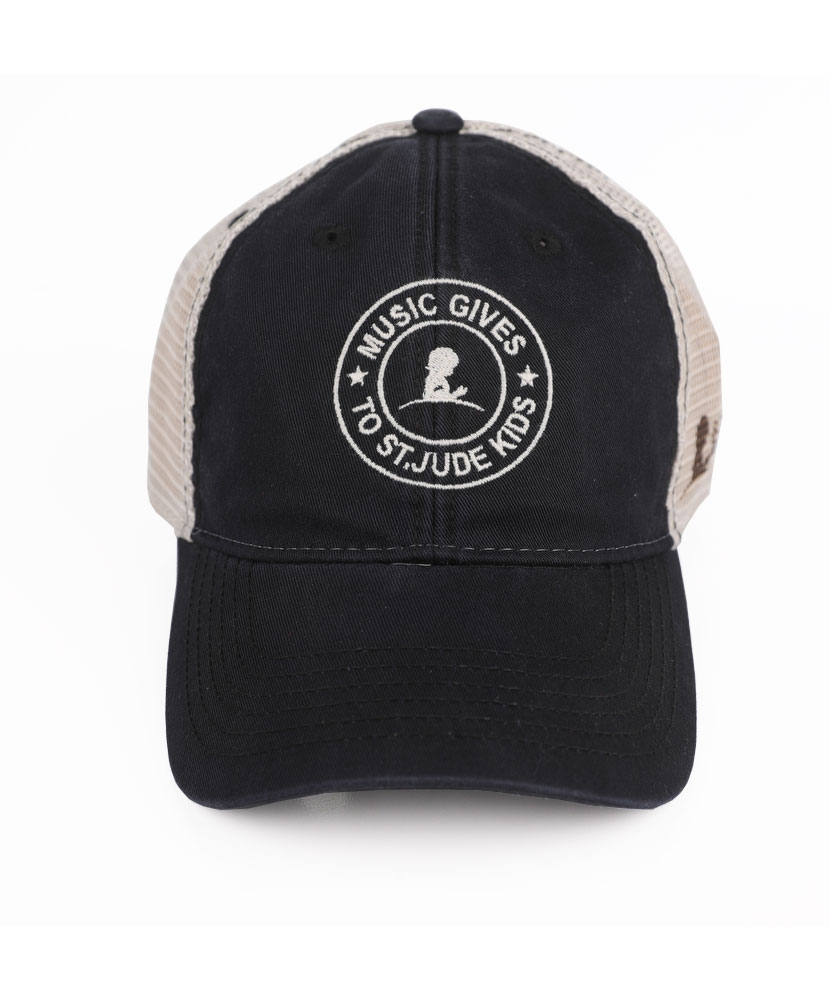 Music Gives to St. Jude Kids Trucker Hat - St. Jude Gift Shop 1e397e02a6a